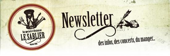 La newsletter du Sablier